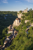 Medieval Pilgrimage Town of Rocamadour, Quercy, Midi-Pyrenees, France Photographic Print by Brian Jannsen