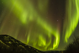 Alaska, Fairbanks. Northern Lights Patterns and Colors Photographic Print by Jaynes Gallery
