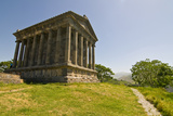 Hellenic Temple of Garni, Armenia Photographic Print by Michael Runkel