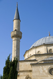 Mosque with Minarets, Baku, Azerbaijan Photographic Print by Michael Runkel