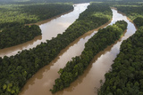 Cuyuni River, Guyana. Longest River in Guyana Photographic Print by Pete Oxford