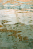 Utah. Colorful Abstract Reflections of Canyon Walls on Lake Powell Photographic Print by Judith Zimmerman