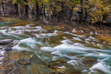 Mcdonald Creek in Spring in Glacier National Park, Montana, Usa Photographic Print by Chuck Haney