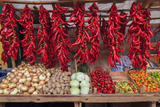 Macedonia, Lake Ohrid, Struga. Peppers and Vegatables for Sale at a Local Market Photographic Print by Emily Wilson