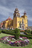 Mexico, Guanajuato. Gardens Welcome Visitors to the Colorful Town Photographic Print by Brenda Tharp