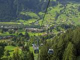 Switzerland, Bern Canton, Grindelwald, Grindelwaild-First Lift Photographic Print by Jamie And Judy Wild