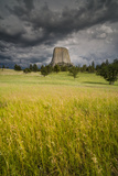 Wyoming, Devil's Tower National Monument Photographic Print by Judith Zimmerman