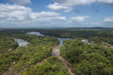 Essequibo River, Iwokrama, Rupununi, Guyana. Longest River in Guyana Photographic Print by Pete Oxford