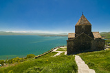 Sevanavank by Lake Sevan, Armenia Photographic Print by Michael Runkel