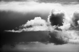 Canada, Storm Clouds Gather Above West Coast of Hudson Bay South of Inuit Village of Arviat Photographic Print by Paul Souders