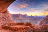 Evening Light on False Kiva, Island in the Sky, Usa Photographic Print by Russ Bishop
