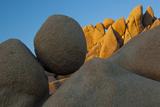 California. Joshua Tree National Park. Jumbo Rocks at Sunset Photographic Print by Judith Zimmerman