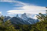 Trek Up to Mount Fitzroy from the UNESCO World Heritage Site El Chalten, Argentina, South America Photographic Print by Michael Runkel
