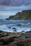 Evening over the Giant's Causeway and the Cliffs of Northern County Antrim, Northern Ireland, Uk Photographic Print by Brian Jannsen