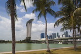 Singapore, City Seen from the Waterfront Photographic Print by Walter Bibikow