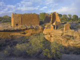 Sunset at Hovenweep Castle, Hovenweep National Monument at Little Ruin Canyon, Utah Photographic Print by Tim Fitzharris