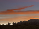 Sunrise at Balanced Rock and the Windows Section of Arches National Park, Utah Photographic Print by Tim Fitzharris