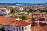 Court House Building Santa Barbara, California Photographic Print by William Perry