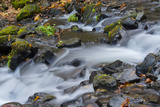 Autumn, Starvation Creek State Park, Columbia Gorge, Oregon, Usa Photographic Print by Michel Hersen