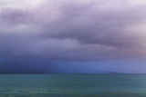 Washington State, Seabeck. Storm Clouds over Hood Canal at Twilight Photographic Print by Jaynes Gallery