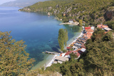 Macedonia, Ohrid and Lake Ohrid, Sheltered Beach Photographic Print by Emily Wilson