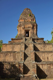 Baksei Chamkrong Temple, Angkor World Heritage Site, Siem Reap, Cambodia Photographic Print by David Wall