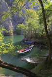 Macedonia, Matka Is a Canyon West of Skopje and Location of Several Medieval Monasteries Photographic Print by Emily Wilson