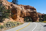 Utah, Bryce, Red Canyon Tunnels Photographic Print by Bernard Friel
