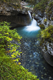 Cascade in Johnston Canyon, Banff National Park, Alberta, Canada Photographic Print by Russ Bishop