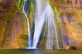 Lower Calf Creek Falls, Grand Staircase-Escalante National Monument, Utah, Usa Photographic Print by Russ Bishop