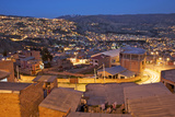 South America, Bolivia, El Alto. City Overlooks La Paz at Twilight Photographic Print by Jaynes Gallery