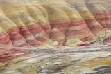 Oregon, John Day Fossil Beds National Monument. Landscape of Painted Hills Unit Photographic Print by Jaynes Gallery