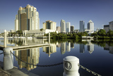 Early Morning over the Skyline of Tampa, Florida, Usa Photographic Print by Brian Jannsen