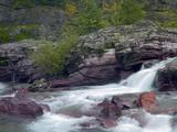 Mcdonald Creek, Glacier National Park, Montana, Usa Photographic Print by Tim Fitzharris