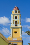 Cuba. Sancti Spiritus Province. Trinidad. Iglesia Y Convento De San Francisco Towers over the City Photographic Print by Inger Hogstrom