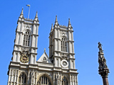 England, Central London, City of Westminster. Western Facade of Westminster Abbey Photographic Print by Pamela Amedzro