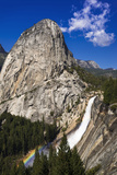 Nevada Fall, Half Dome and Liberty Cap, California, Usa Photographic Print by Russ Bishop