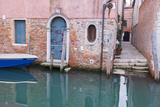 Home Entrance from Canal Side. Venice. Italy Photographic Print by Tom Norring