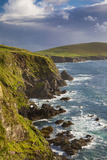 Rocky Coastline of the Dingle Peninsula Near Dunquin, County Kerry, Republic of Ireland Photographic Print by Brian Jannsen