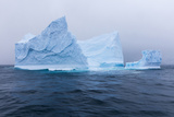 South Georgia Island. Large Iceberg on Cloudy Day Photographic Print by Jaynes Gallery