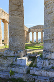 Dorian Temple of Segesta. 5th Century BC. Sicily, Italy Photographic Print by Tom Norring