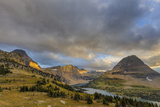 Late Stormy Light Above Hidden Lake at Logan Pass in Glacier National Park, Montana, Usa Photographic Print by Chuck Haney