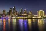 Twilight over the Skyline of Tampa, Florida, Usa Photographic Print by Brian Jannsen