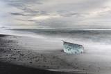 Icebergs , the Vatnajokull National Park, Iceland Photographic Print by Martin Zwick