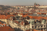 Birds Eye View from Old Town Square. Church of Our Lady of Tryn. Prague. Czech Republic Photographic Print by Tom Norring
