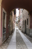 Cityscape. Orta San Giulio. Piedmont, Italy Photographic Print by Tom Norring
