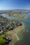 Weymouth, Waimahia Creek, Wattle Downs and Manukau Harbour, Auckland, North Island, New Zealand Photographic Print by David Wall