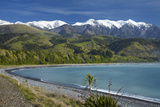 Seaward Kaikoura Ranges, Mangamaunu, Near Kaikoura, Marlborough, South Island, New Zealand Photographic Print by David Wall