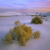 Beautiful Sunset over White Sand National Monument, New Mexico, Usa Photographic Print by Tim Fitzharris