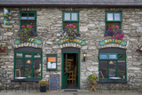 Riverside Cafe Exterior in Sneem, Along the Ring of Kerry, County Kerry, Republic of Ireland Photographic Print by Brian Jannsen